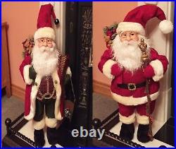 0.7m 2.4ft Father Christmas Standing Xmas Santa Claus Ornament Decoration 70cm
