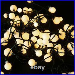 100/200/500 LED Berry Warm White Christmas Xmas Fairy String Lights Wedding UK