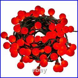 100/200/500 LED Red Berry Christmas Xmas Fairy String Lights Wedding Party BNIB