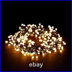 100/384/720 Led Warm White Berry Cluster Lights Xmas Christmas Wedding + Timer