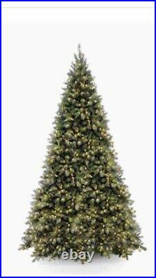 12 Foot Artificial Tiffany Medium Fir Christmas Tree with Lights