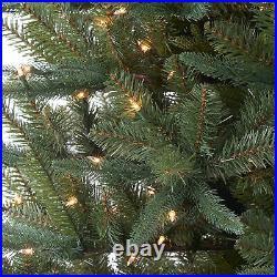 12 Ft Christmas Tree Pre Lit Pine Xmas Decor 1000 Clear Lights 3214 Branch Tips