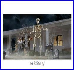 12 Ft. Giant Sized Skeleton with LifeEyes Home Depot NEW IN BOX