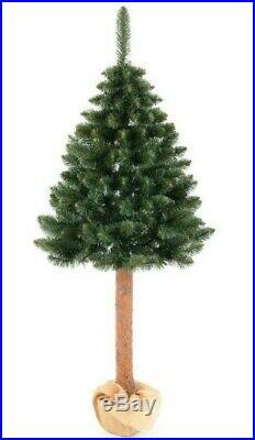 160cm Artificial Christmas half Tree modern Realistic Xmas Decoration UK