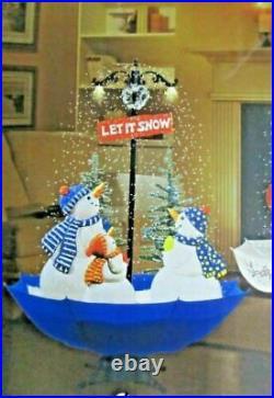 170cm High Musical Snowing Christmas decoration snowmans Umbrella Base indoor