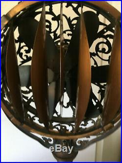 1920's Victor Luminaire Funeral Parlor Fan, Excellent Condition, Halloween Prop