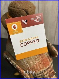 2017 Spritz Bird Target Fisher, Rusty, And Copper! Super Rare And With Tags