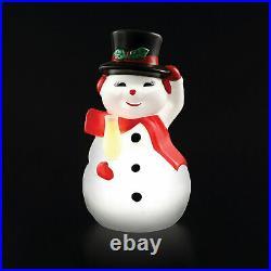24 Blow Mold Snowman Home Decor Seasonal Decor