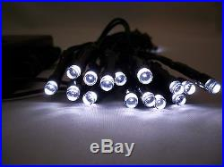 30 LED White Outdoor Indoor Battery 3M Christmas Fairy Waterproof String Lights