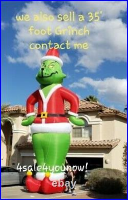 32' Foot Inflatable Rudolph The Red Nosed Reindeer Custom Made