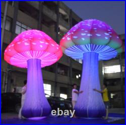 3m Full Printing Colored Giant Inflatable Mushroom for Theme Park, Event, Part s