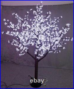 480 LEDs 5ft White Cherry Blossom Tree Light Xmas Party Wedding Outdoor Decor