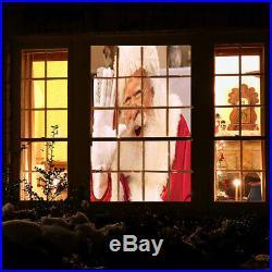(4 Pack) Star Shower Window Wonderland Christmas Halloween Movie Projector Kit