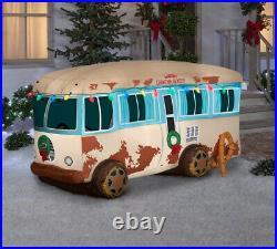 4' airblown National Lampoon RV Christmas Inflatable Yard Decor