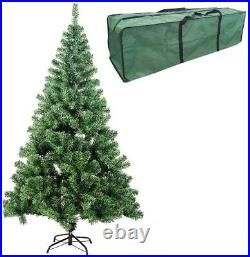 5ft / 6ft / 7feet Christmas Tree Metal Stand Xmas Tree Traditional Decorations