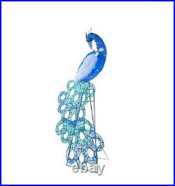 70 Splendor Peacock 120 multi LED Lights Christmas Outdoor Decoration