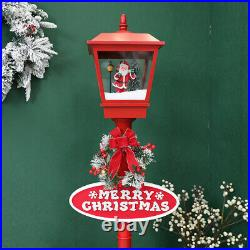 71in Outdoor Christmas Decoration Christmas Snowing Lamp