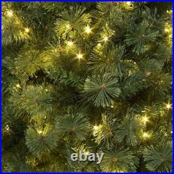 7Ft Bushy Green Kentucky Pine Pre Lit Christmas Tree Xmas Home Decorations 2.1M
