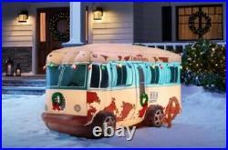 7.5 Ft National Lampoon's Inflatable Rv Christmas Yard Decor Nib