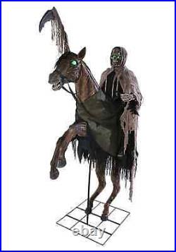 7 Ft. Reaper's Ride Animatronic Prop