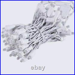 7 boxes Holiday Living 200-Count Cool White LED Christmas Icicle Lights wedding