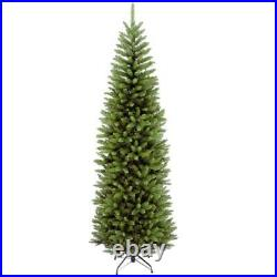 7 ft. Kingswood fir pencil hinged artificial christmas tree national holiday