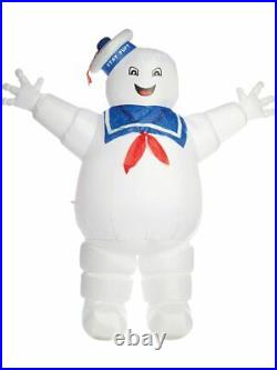 8.5' Tall Inflatable Ghostbusters Stay Puft Marshmallow Man Halloween Decoration