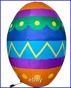 8' FT Easter Bunny's HUGE EGG Airblown Inflatable Yard Decor