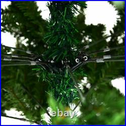 9FT PVC Artificial Christmas Tree 2132 Tips Premium Hinged with Solid Metal Legs