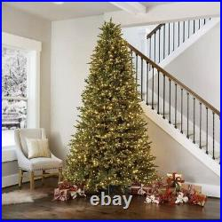 9 Pre-Lit Micro LED Artificial Christmas Tree Winter Family Happy Holidays