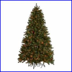 9-foot Mixed Spruce Hinged Artificial Christmas Tree