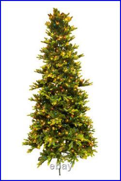 9' ft Bethlehem Noble Christmas Spruce Tree with Swift Lock & Multi Light Function