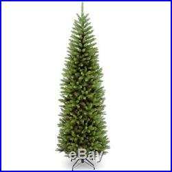 9 ft. Kingswood fir pencil artificial christmas tree national foot company new