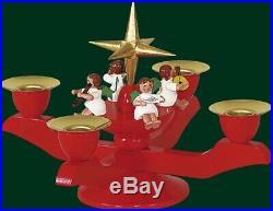 Adventsleuchter Leuchter Kerzenhalter Weihnachtsleuchter NEU Erzgebirge 00481