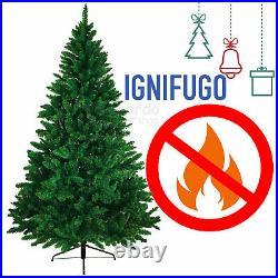 Albero DI Natale Realistico Super Folto 150 180 210 240 CM Pino Verde Naturale