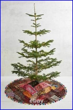 Anthropologie Bohemian Patchwork Tree Skirt-$278