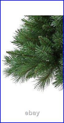 Argos Home 6ft Half Parasol Christmas Tree Green