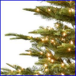 Artificial Christmas Tree 6.5 ft. Pre-Lit Aspen Green Fir 500-Clear Lights