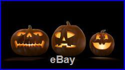 AtmosFearFX Jack-O-Lantern Halloween DVD + 2 Screens (RD) + LED Projector