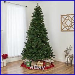 BCP Pre-Lit Artificial Spruce Christmas Tree with Incandescent Lights