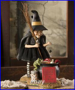 Bethany Lowe Halloween Cauldron Cooking Witch TD9065 Free shipping