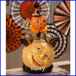 Bethany Lowe Over The Moon Jack TD7634 Halloween/Fall Free Shipping
