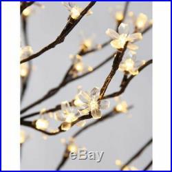 Blossom Tree LED Lights Indoor Outdoor Decor Patio Yard 72 Cherry Holiday Decor