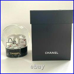 CHANEL Luxury Snow Globe Crystal Ball Special Collectible VIP GIFT RARE
