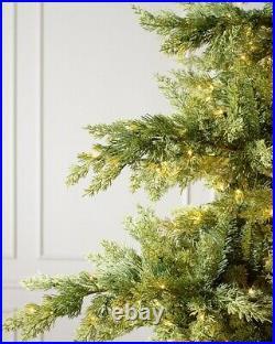 CHRISTMAS TREE GRAND CANYON CEDAR 6.5' Height Clear LED Fairy Lights