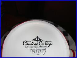 Carnival Cottage by Johanna Parker& Magenta Snowman Teapot