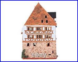 Ceramic Tealight Candle Holder A. Dürer's House in Nuremberg 24 cm © Midene