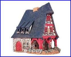 Ceramic Tealight Holder Collectible Miniature Old Smithery in Rothenburg 21 cm