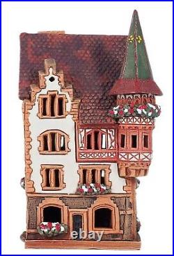 Ceramic Tealight Holder Hirshapotheke in Constance 16 cm © Midene