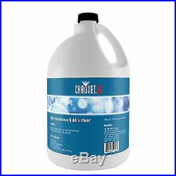 Chauvet High-Performance Non-Staining Bubble Fluid, 1-Gallon (2 Pack) 2 x BJU